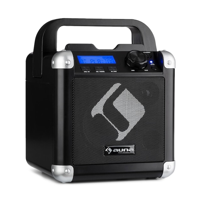 Auna Karaoke-System Bluetooth Akku Tragegriff USB AUX-In »BC-1«