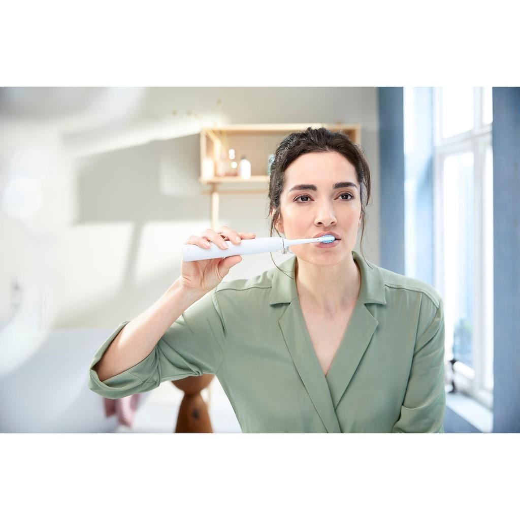 Philips Sonicare Elektrische Zahnbürste »HX9611/19«, 4 St. Aufsteckbürsten, ExpertClean 7300 Schallzahnbürste, mit 2 ExpertClean Handstücke