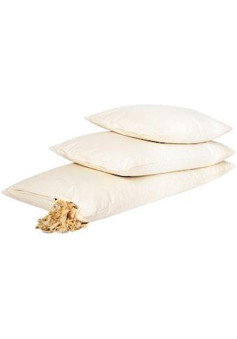 herbalind Naturfaserkopfkissen, Füllung: mit Zirbenholzflocken und Dinkelspelz, (1... kaufen