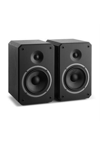 NUMAN MKII – Zwei-Wege-Regallautsprecher Paar schwarz »Octavox 702« kaufen