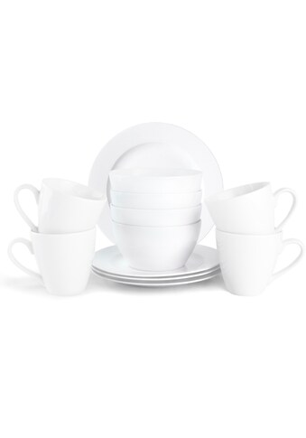 JACKIES BAY Frühstücks-Set »Jackies Bay White«, (Set, 12 tlg.) kaufen