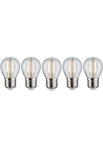 Paulmann LED-Filament »Tropfen«, E27, 5 St., Warmweiß, 5er Pack2,6W, E27 klar 2700K kaufen