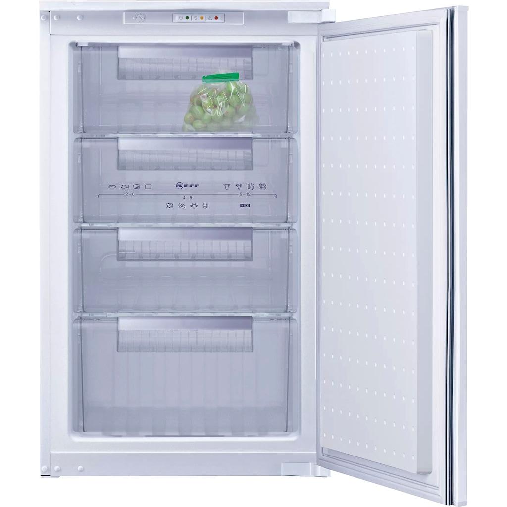 NEFF Einbaugefrierschrank »G1624SE0«, N 30, 87,4 cm hoch, 54,1 cm breit