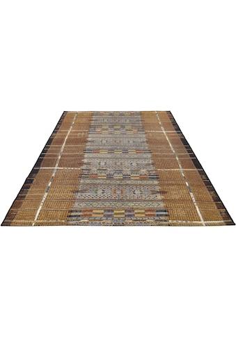 Gino Falcone Teppich »Outdoor-Africa 38«, rechteckig, 5 mm Höhe, Flachgewebe, In- und Outdoor geeignet, Wohnzimmer kaufen